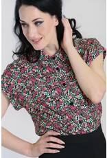 Hell Bunny SPECIAL ORDER Hell Bunny Effie Floral Shirt