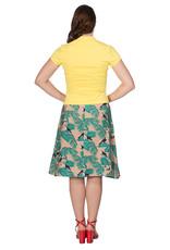 Banned SPECIAL ORDER Dancing Days Mandarin Top Yellow