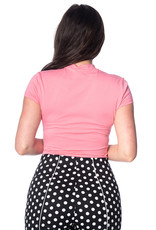 Banned SPECIAL ORDER Dancing Days Mandarin Top Pink
