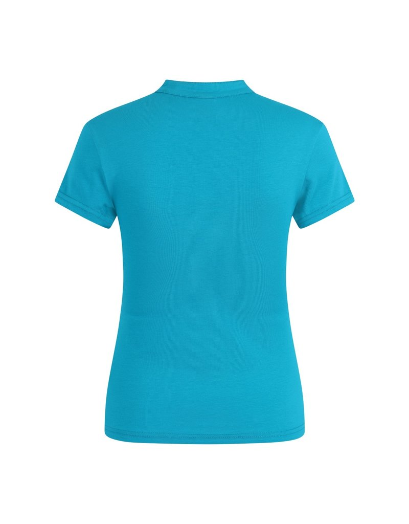 Banned SPECIAL ORDER Dancing Days Mandarin Top Turquoise