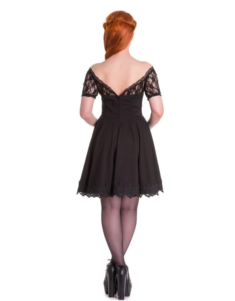 Hell Bunny SPECIAL ORDER Hell Bunny Amara Mini Dress Black