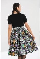 Hell Bunny SPECIAL ORDER Hell Bunny Be Afraid B Movie Skirt