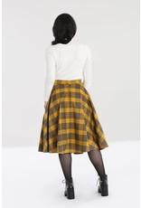 Hell Bunny SPECIAL ORDER Hell Bunny Dijon Tartan Skirt