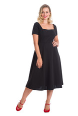 Banned Dancing Days 1950s Classy and Sassy Swing Dress