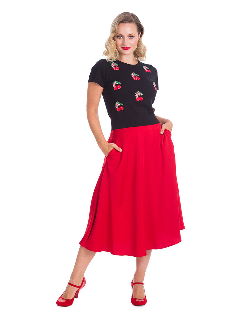 Banned Dancing Days 1950s Cherry Berry Jumper