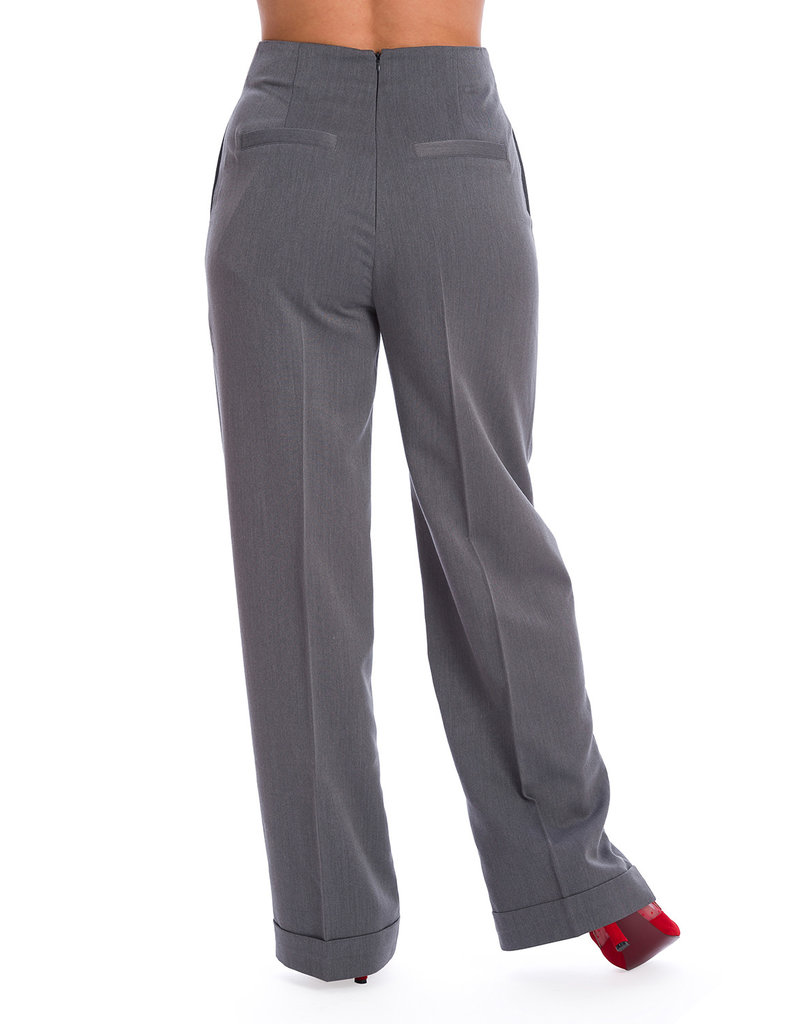 Banned SPECIAL ORDER Dancing Days Adventures Ahead Trousers Grey