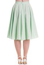 Hell Bunny SPECIAL ORDER Hell Bunny Paula Swing Skirt Mint