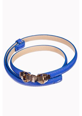 Banned SPECIAL ORDER Banned Bitter Sweet Thin Belt Royal Blue