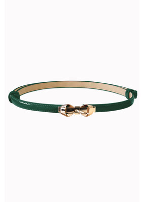 Banned SPECIAL ORDER Banned Bitter Sweet Thin Belt Forest Green