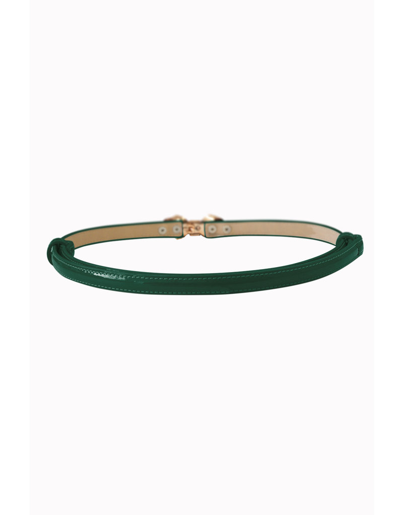 Banned Banned Bitter Sweet Thin Belt Forest Green