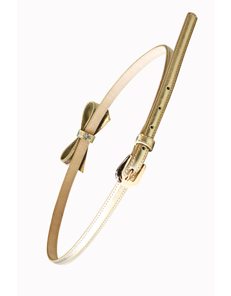 Banned SPECIAL ORDER Banned Gold Rush Bow Belt Gold