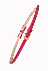 Banned SPECIAL ORDER Banned Gold Rush Bow Belt Hot Pink