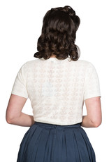 Banned SPECIAL ORDER Dancing Days Nautical Top Cream
