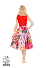 Hearts and Roses SPECIAL ORDER Hearts & Roses Denise Floral Swing Skirt