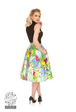 Hearts and Roses SPECIAL ORDER Hearts & Roses Mary Tropical Floral Skirt
