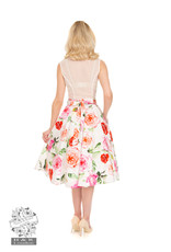 Hearts and Roses SPECIAL ORDER Hearts & Roses Scarlett Floral Swing Skirt
