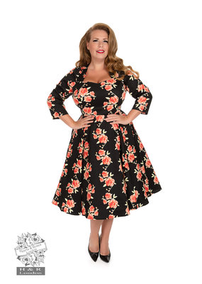 Hearts and Roses SPECIAL ORDER Hearts & Roses Juliet Rose Swing Dress