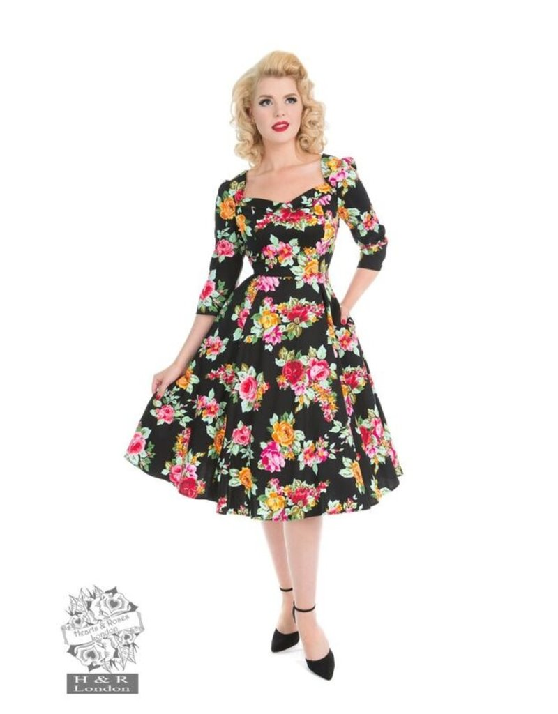 Hearts and Roses SPECIAL ORDER Hearts & Roses Zena Swing Dress Plus Size