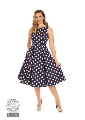 Hearts and Roses SPECIAL ORDER Hearts & Roses Mia Polka Dot Swing Dress