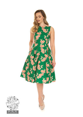 Hearts and Roses SPECIAL ORDER Hearts & Roses Beth Floral Swing Dress