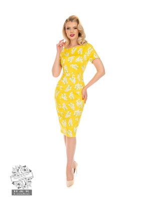 Hearts and Roses SPECIAL ORDER Hearts & Roses Jane Floral Wiggle Dress