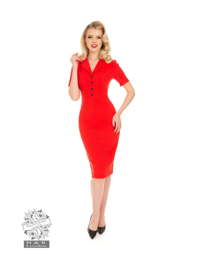 Hearts and Roses SPECIAL ORDER Hearts & Roses Madeline Wiggle Dress