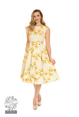 Hearts and Roses SPECIAL ORDER Hearts & Roses Evonne Floral Swing Dress