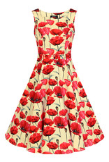 Hearts and Roses SPECIAL ORDER Hearts & Roses Sweet Poppy Swing Dress