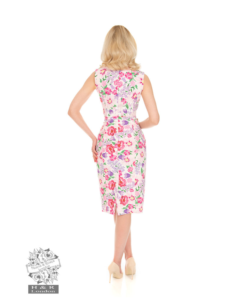 Hearts and Roses SPECIAL ORDER Hearts & Roses Sasha Floral Wiggle Dress