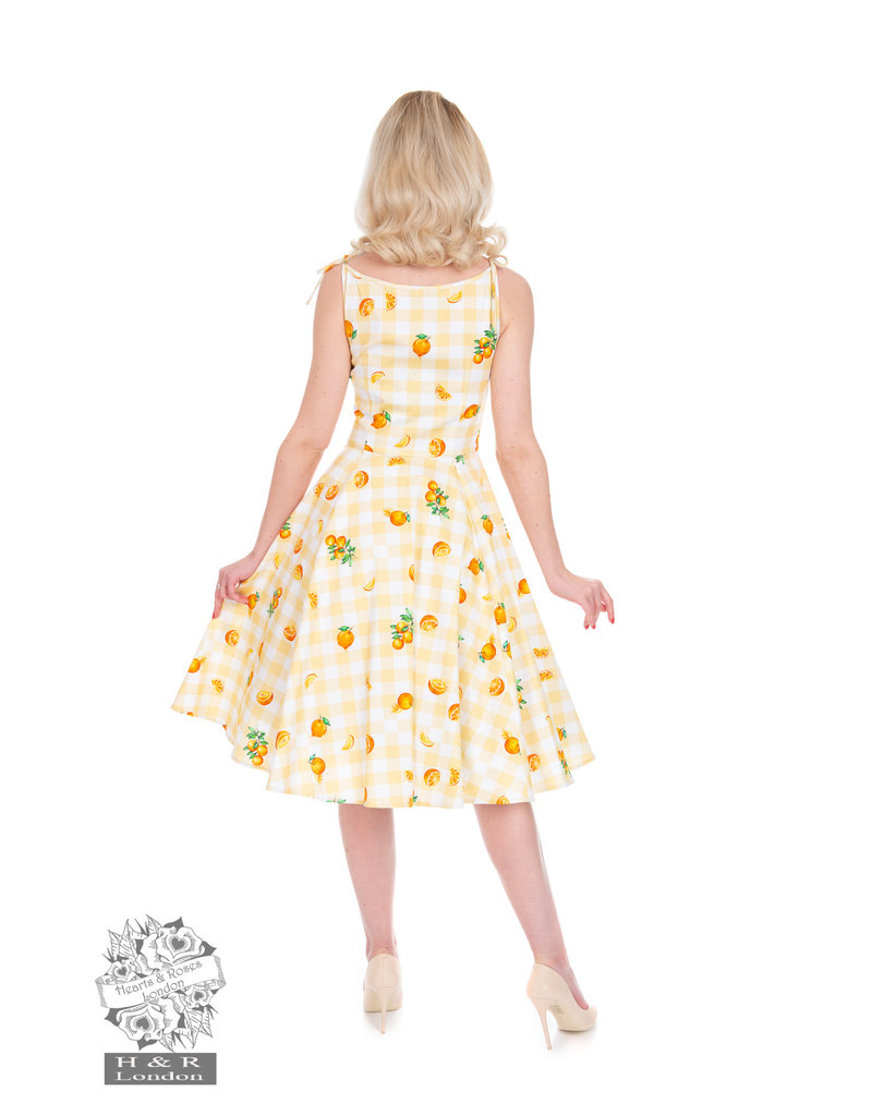 Hearts and Roses SPECIAL ORDER Hearts & Roses Marianne Floral Swing Dress