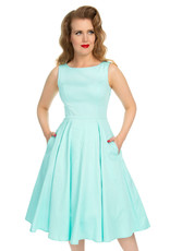 Hearts and Roses SPECIAL ORDER Hearts & Roses Stella Mint Swing Dress