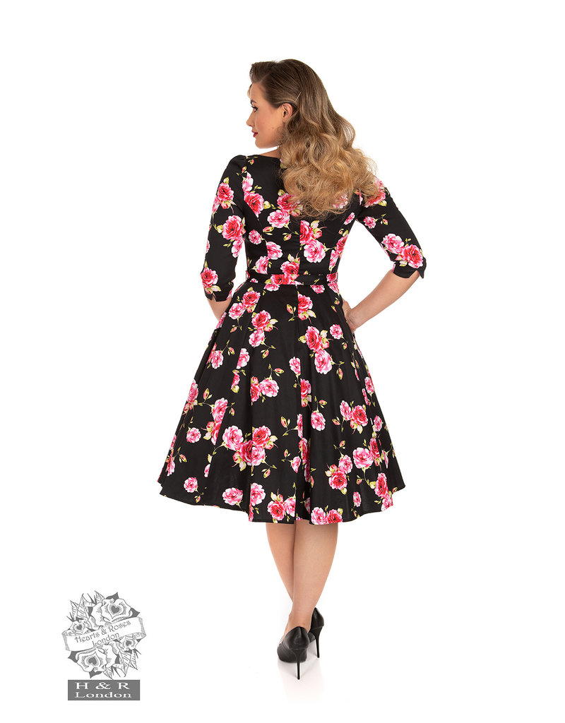 Hearts and Roses SPECIAL ORDER Hearts & Roses Ava Floral Swing Dress