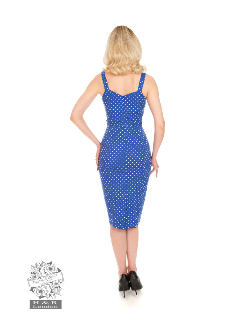 Hearts and Roses SPECIAL ORDER Hearts & Roses Angelica Polka Dot Wiggle Dress