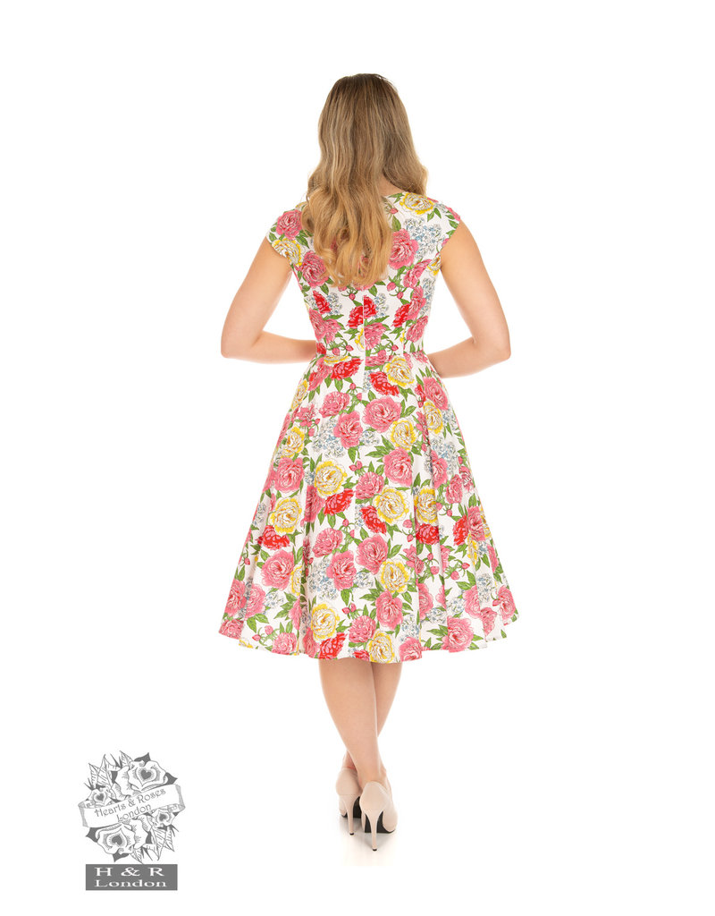 Hearts and Roses SPECIAL ORDER Hearts & Roses Rosana Floral Swing Dress