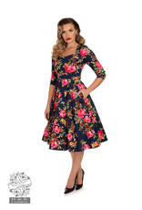 Hearts and Roses SPECIAL ORDER Hearts & Roses Hailey Floral Swing Dress