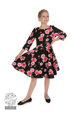 Hearts and Roses SPECIAL ORDER Hearts & Roses Girls Ava Floral Swing Dress