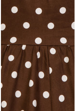 Hearts and Roses SPECIAL ORDER Hearts & Roses Chocolate Polka Dot Kids Dress