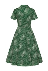 Collectif SPECIAL ORDER Collectif Caterina Pineapple Palm Dress