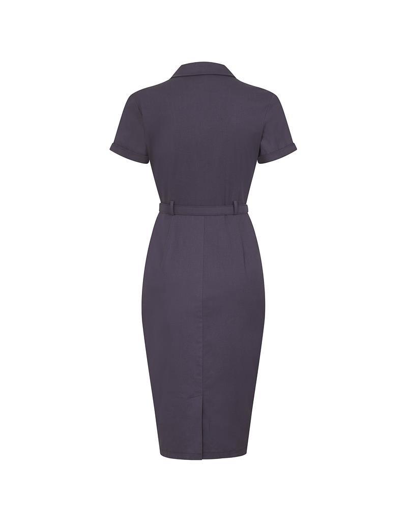Collectif SPECIAL ORDER Collectif Caterina Pencil Dress Purple