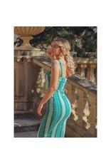 Collectif SPECIAL ORDER Collectif Kiana Mint Humbug Pencil Dress