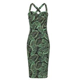 Collectif SPECIAL ORDER Collectif Kiana Tropics Pencil Dress