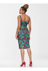 Collectif SPECIAL ORDER Collectif Kiana Tropico Pencil Dress