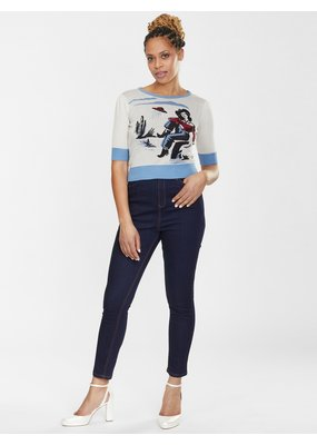 Collectif SPECIAL ORDER Collectif Lulu Rodeo Dancer Jeans