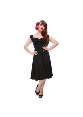 Collectif SPECIAL ORDER Collectif Dolores Swing Dress Black