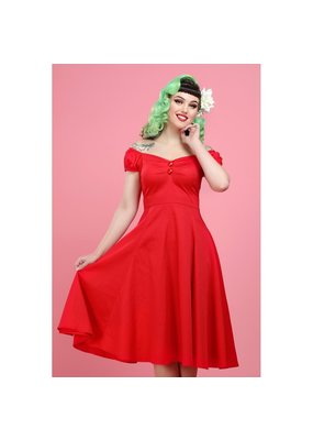 Collectif SPECIAL ORDER Collectif Dolores Swing Dress Red