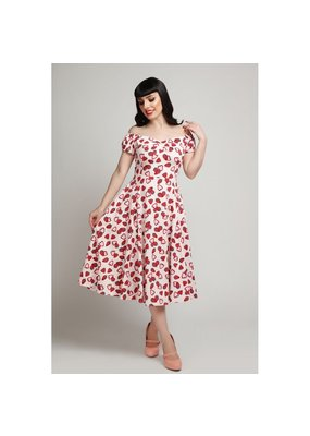 Collectif SPECIAL ORDER Collectif Dolores Strawberry Swing Dress