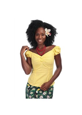 Collectif SPECIAL ORDER Collectif Dolores Top Yellow