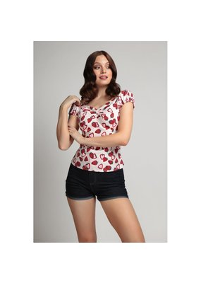Collectif SPECIAL ORDER Collectif Dolores Strawberry Top
