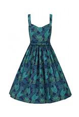 Collectif Collectif Jemima Cool Palm Dress