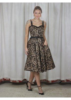 Collectif SPECIAL ORDER Collectif Nova Leopard Swing Dress